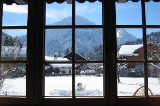 view, snow, ski, knee, rehab